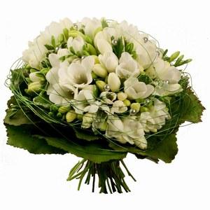 Bouquet di fiori Bianchi extra