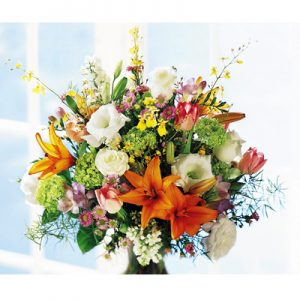 Bouquet di fiori colorati grande
