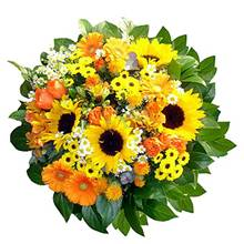 Bouquet di fiori gialli medio
